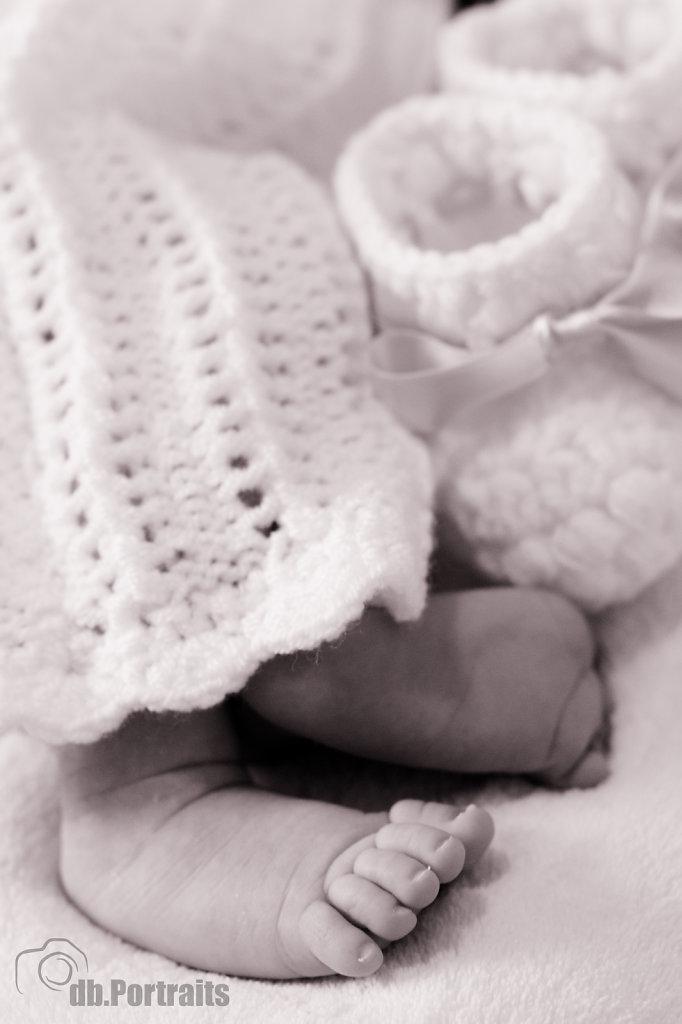 Babyfüße Foto