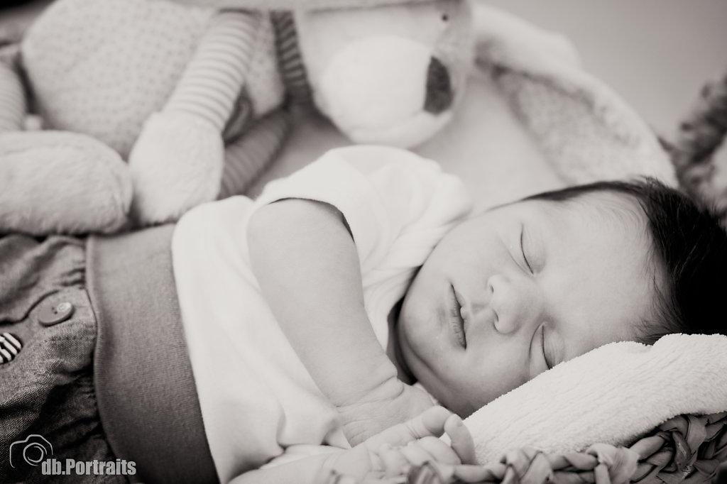 Baby Boy im Tiefschlaf